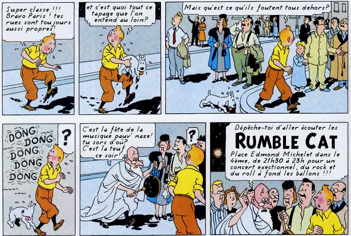 Tintin teasing